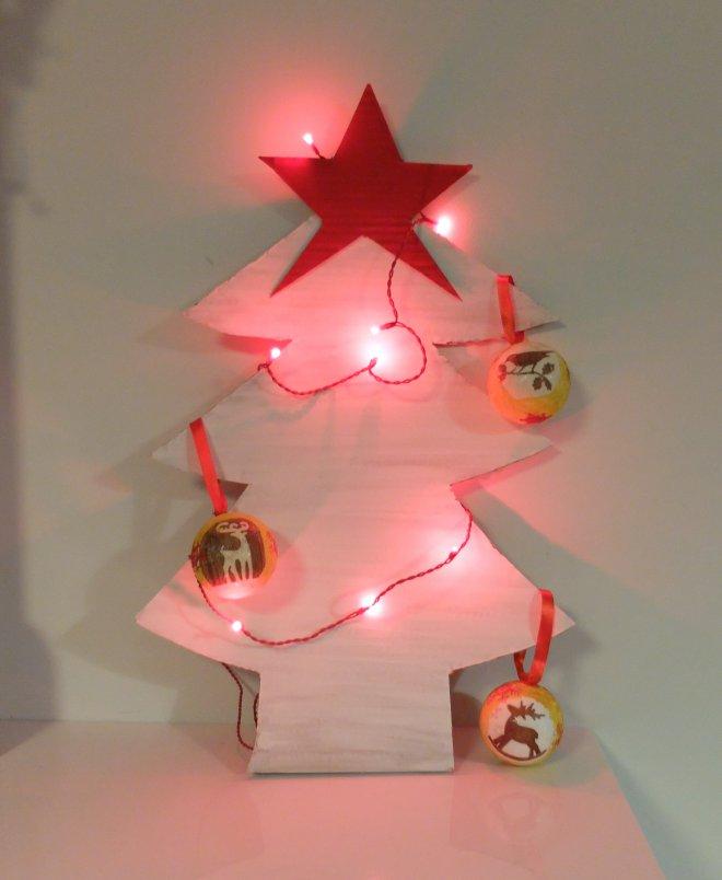 81ba54942 Možností je neúrekom a toto je len jedna z variánt. Nám stromček pekne  zapasoval na TV stolík a stal sa tak peknou vianočnou dekoráciou.