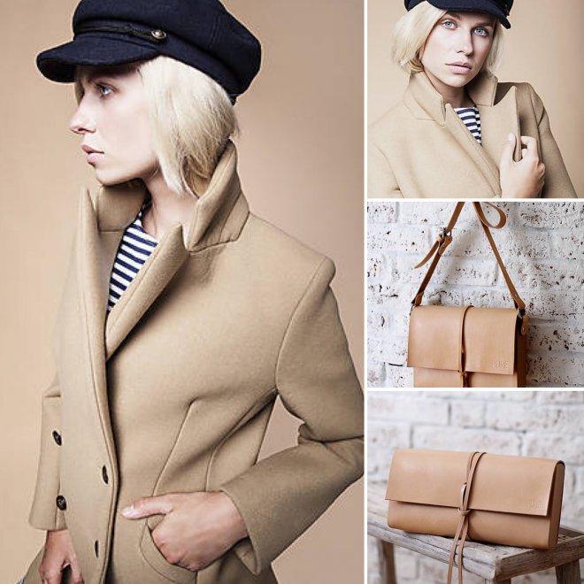 63071f279978 Jedinečný a pohodlný outfit na zimu vytvoríte spolu so štýlovým kabátom a  kvalitnou originálnou kabelkou
