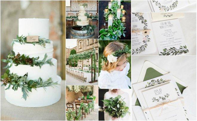 fd46f9a26e Témou blížiacej sa svadobnej sezóny je totiž Greenery - a ak nevesty  nasledujú svadobné trendy