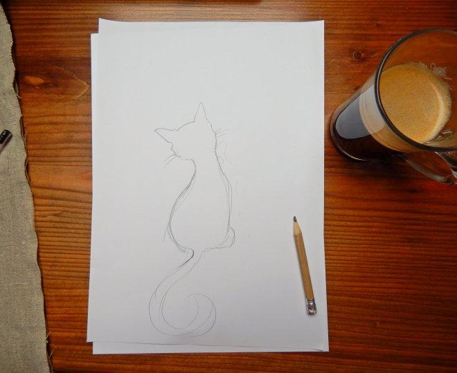 krémová mokré čierne mačička videá
