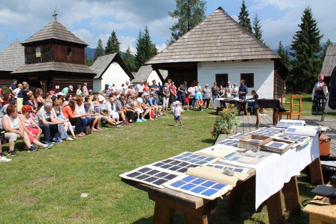 Modrotlačiarska nedeľa v Múzeu liptovskej dediny v Pribyline