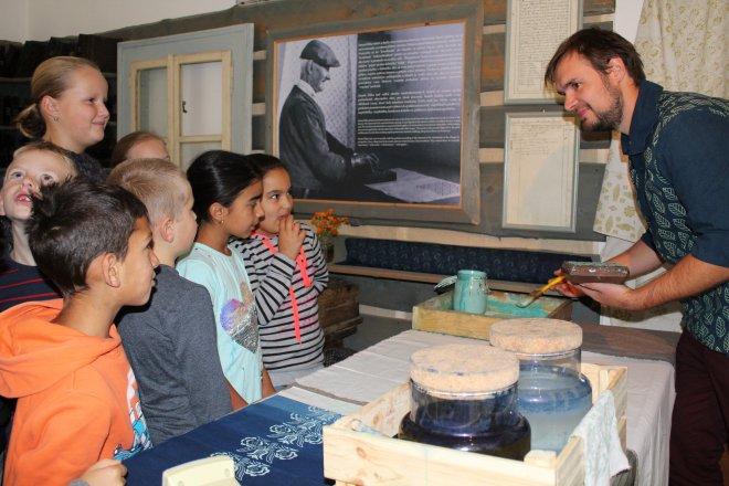 Interaktívna prednáška s Matejom Rabadom v Národopisnom múzeu Liptovský Hrádok