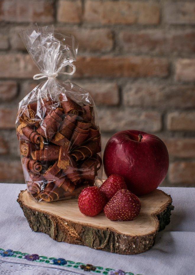 Závitky Jablko - jahoda