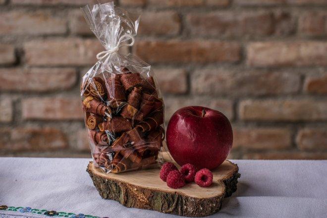 Závitky Jablko - malina