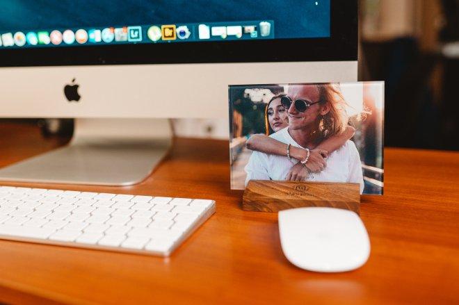 Unikátny foto darček na mieru s venovaním alebo citátom priamo na skle pre partnera, partnerku, mamu, otca alebo kohokoľvek na kom Vám záleží
