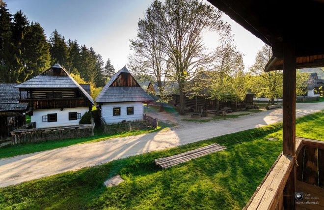 Región Orava v Múzeu slovenskej dediny, foto Milo Fabian