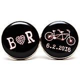 Bike svadba - v čiernom