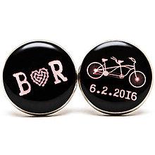 Šperky - Bike svadba - v čiernom - 6910610_