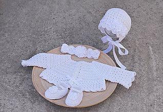 Detské súpravy - komplet na krst - 6912460_