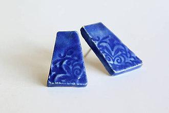 Náušnice - keramické náušnice - nestoj v rade - 6910270_