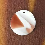 Náhrdelníky - Čokoládový jogurt na krku - 6910663_