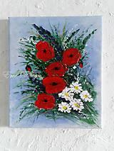 Maky - ručne maľovaný obraz