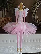 Bábiky - Ružová princezná - 6913546_