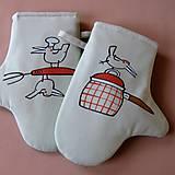 Úžitkový textil - V KUCHYNI - chňapky - 6915745_