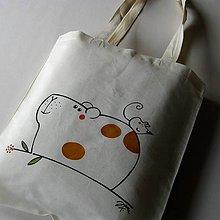 Nákupné tašky - MORČÁTKO - taška nákupní - 6913784_