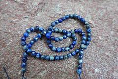 - Lapis Lazuli AB fazetovaný 4mm - 6913508_