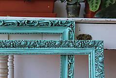 Zrkadlá - Mentolové rámy - zrkadlá - predané - 6914023_