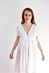 Šaty - Šaty ľahké ako biela hmla  - 6914757_