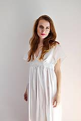 Šaty - Šaty ľahké ako biela hmla  - 6914758_