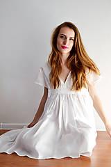 Šaty - Šaty ľahké ako biela hmla  - 6914759_