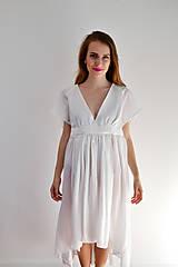 Šaty - Šaty ľahké ako biela hmla  - 6914760_