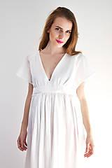 Šaty - Šaty ľahké ako biela hmla  - 6914762_