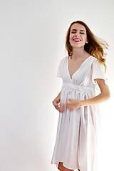 Šaty - Šaty ľahké ako biela hmla  - 6914764_