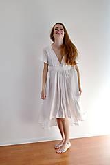 Šaty - Šaty ľahké ako biela hmla  - 6914767_