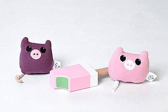 Hračky - Mini tulkáč prasiatko v krabičke - 6917564_