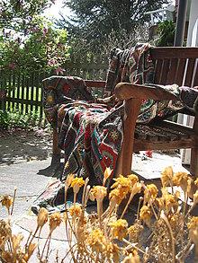 """Úžitkový textil - Chalupárska deka """"Lady Klimt"""" II. - 6917992_"""