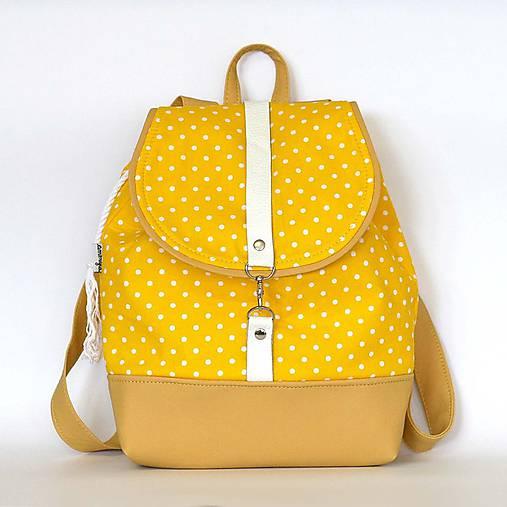 Batoh (žltý bodkovaný)