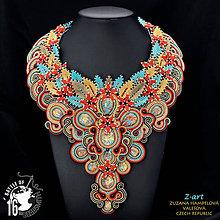 Náhrdelníky - Sutaškový náhrdelník EUGENIA - 6918452_