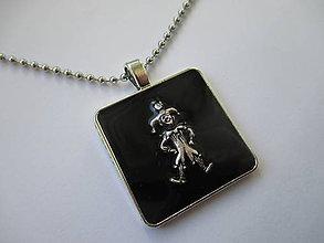 """Šperky - """"Len šaškujem""""-náhrdelník pre mužov - 6917434_"""