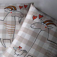 Úžitkový textil - MANŽELÉ KOZLOVI - povlaky na polštářky - 6917943_