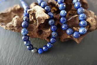 Minerály - Lapis Lazuli fazetovaný 8mm - 6917030_