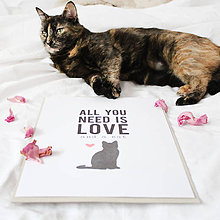 Grafika - Artprint // catlover {1} - 6917609_