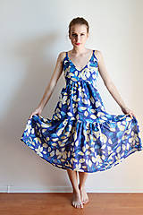Šaty - Lístky na nebesách - šaty  - 6916148_