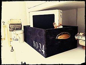 Krabičky - Čierne debnička