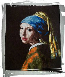 Obrázky - Dievča s perlou -  (Lady Gaga) - 6919064_