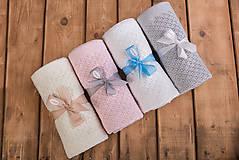 "Textil - Detská deka, ""Breeze"", OEKO-TEX®, Biela - 6919073_"