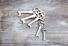 Polotovary - Kľúčik - 6919954_