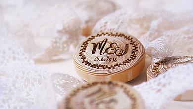 Darčeky pre svadobčanov - Magnetky pre svadobčanov S - 6920097_