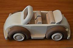"""Hračky - Drevené autíčko """"cabriolet"""" - 6920769_"""