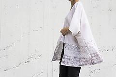 Svetre/Pulóvre - Pierkové kimono - 6920591_