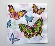 - Servítka M9- Motýle  - 6920985_