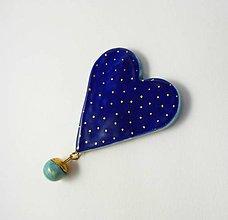 Odznaky/Brošne - Tana šperky - keramika/zlato - 6919137_