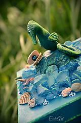 Krabičky - Morský koník a perla - šperkovnica/krabica - 6920921_
