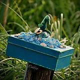 Krabičky - Morský koník a perla - šperkovnica/krabica - 6920927_