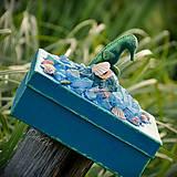 Krabičky - Morský koník a perla - šperkovnica/krabica - 6920928_