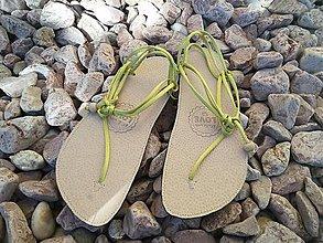 Obuv - Barefoot damske sandalky huarache - 6920319_